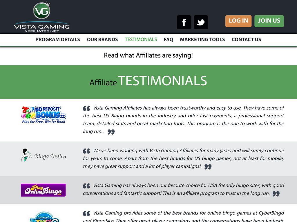 Gallery - Vista Gaming Affiliates