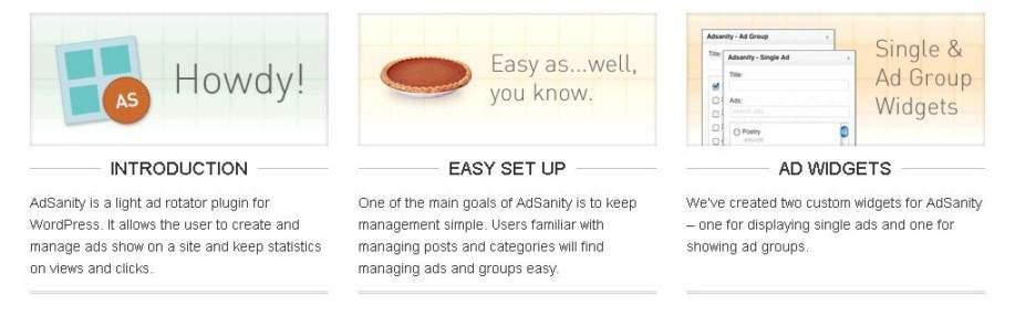 Gallery - Adsanity Plugin Review