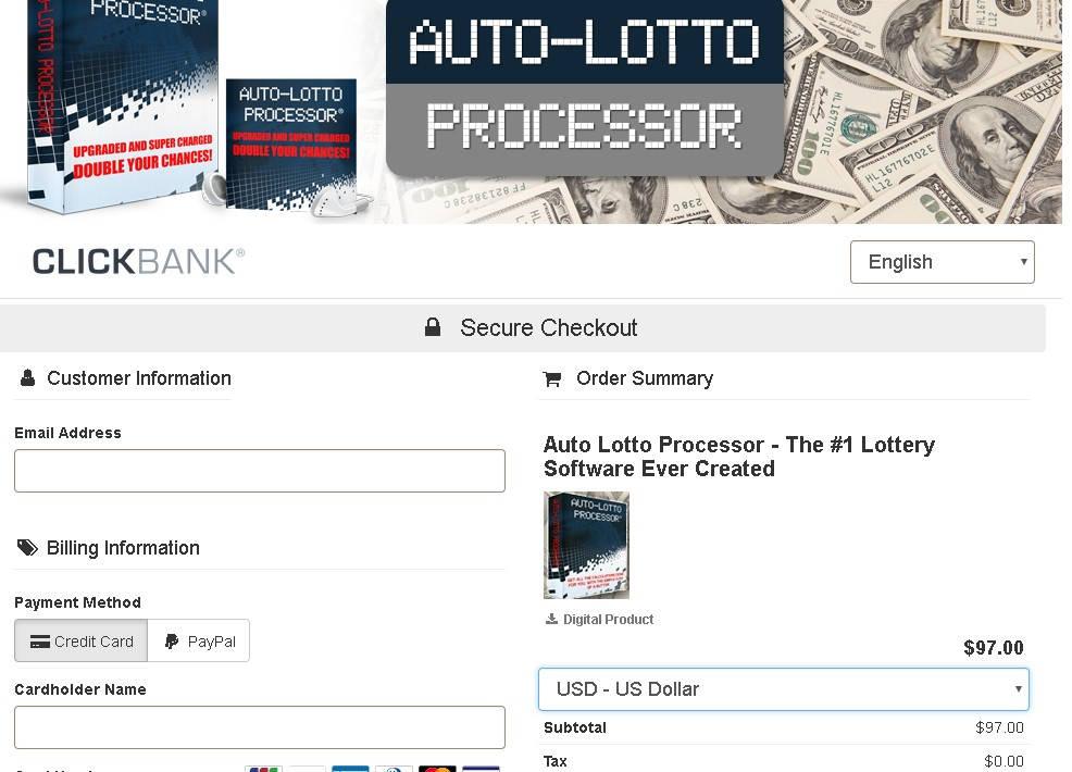 Gallery - Auto Lotto Processor Review