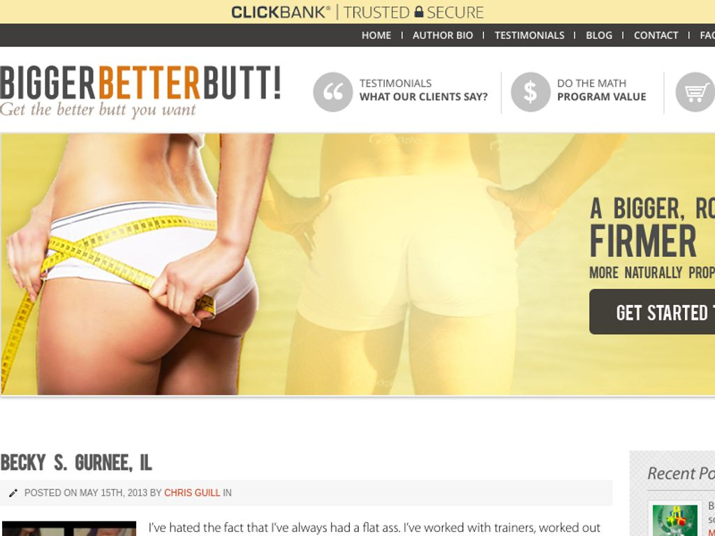 Gallery - Bigger Better Butt Review
