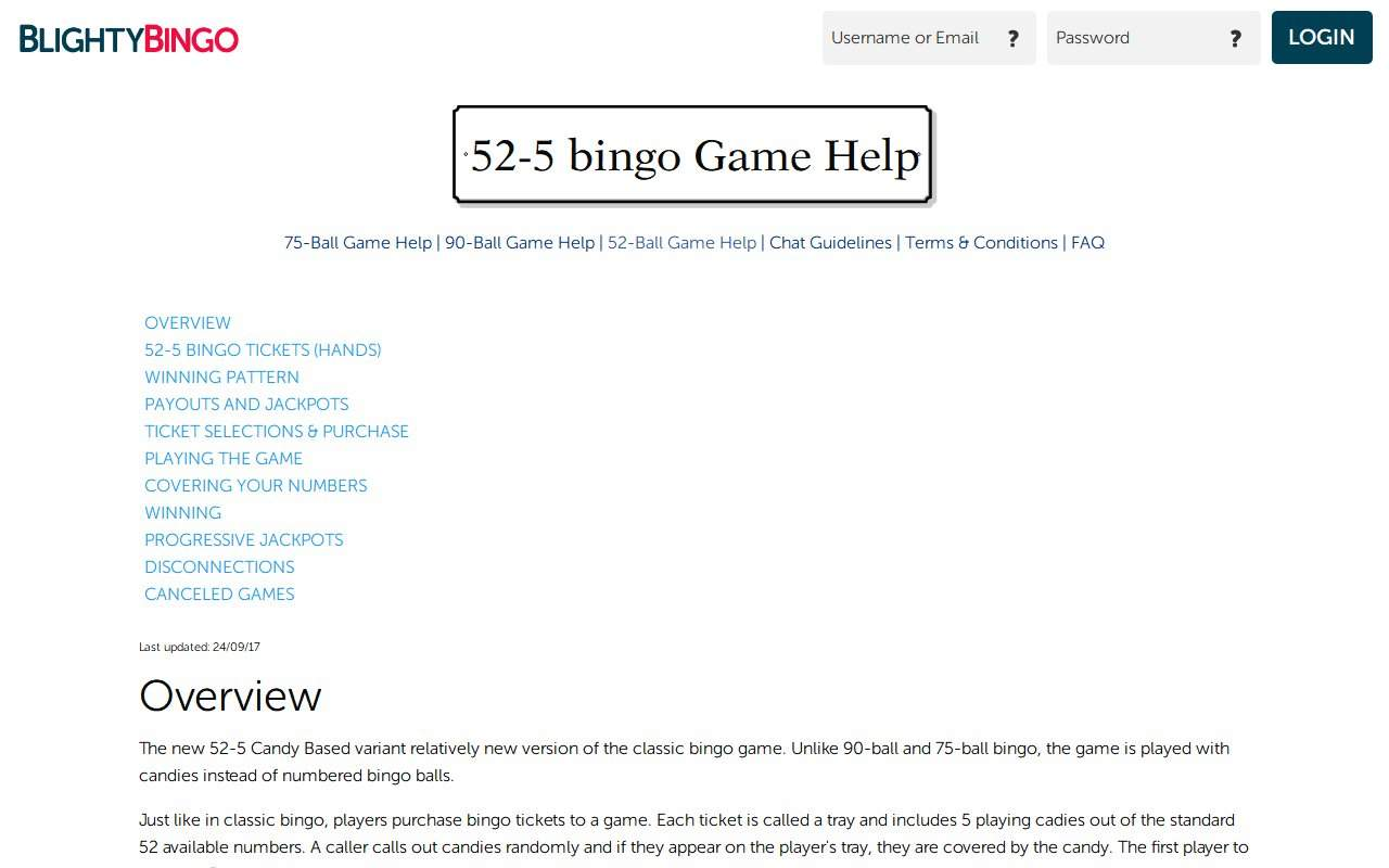 Gallery - Blighty Bingo Review
