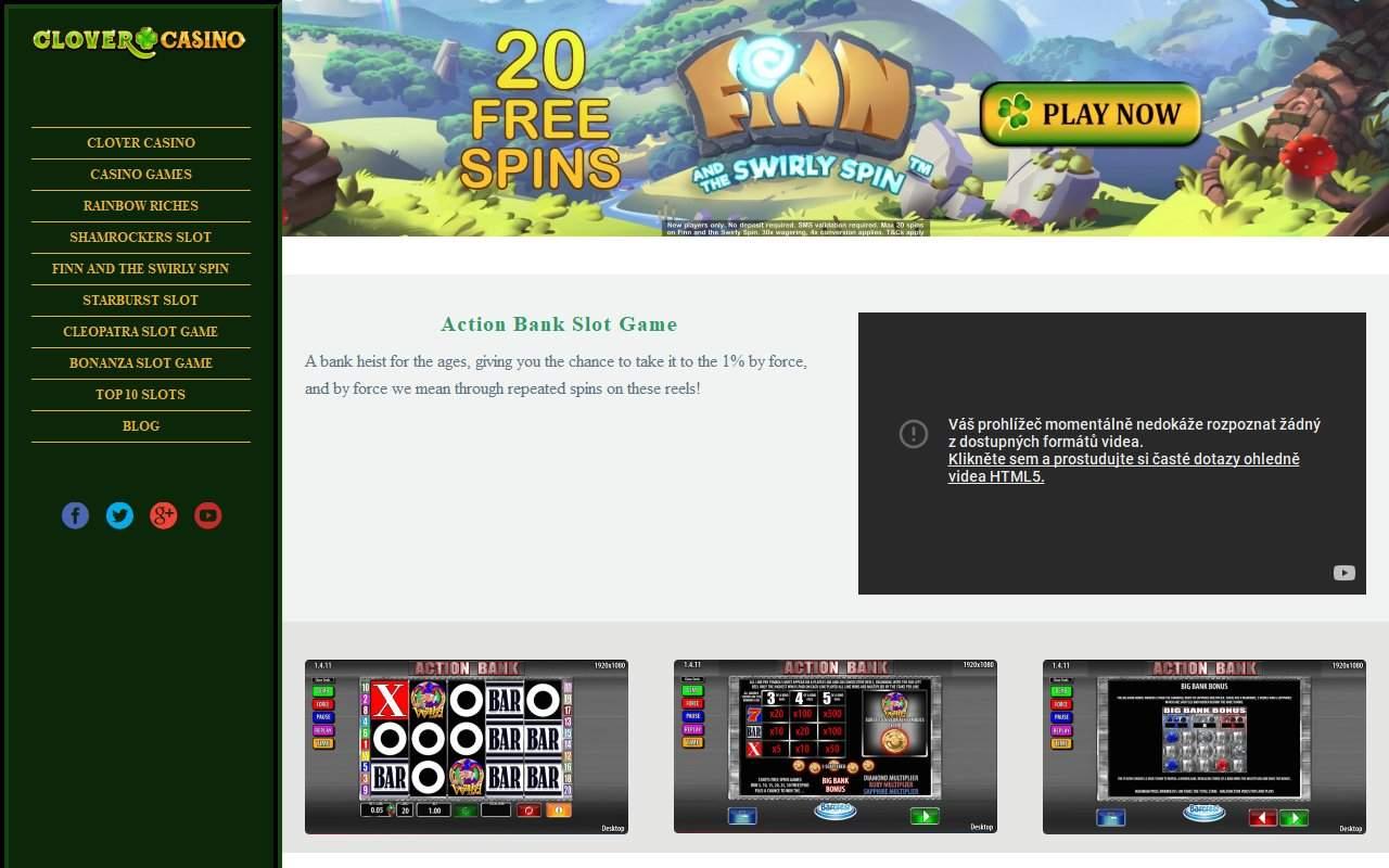 Gallery - Clover Casino Review