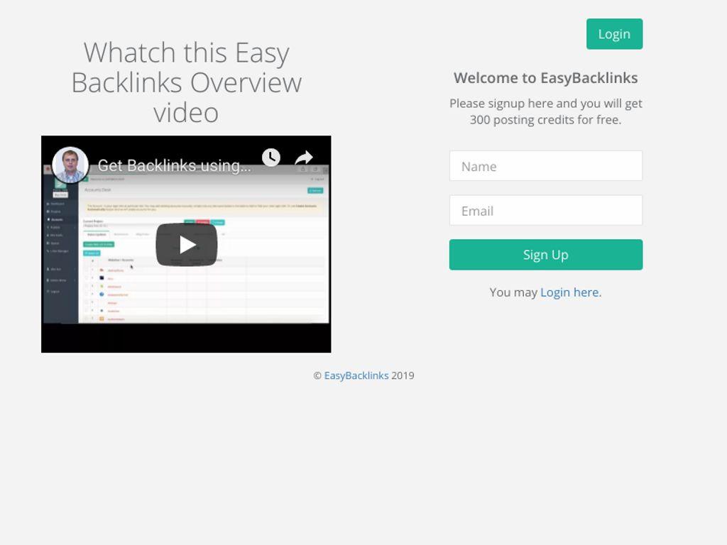 Gallery - EasyBacklinks.com Review