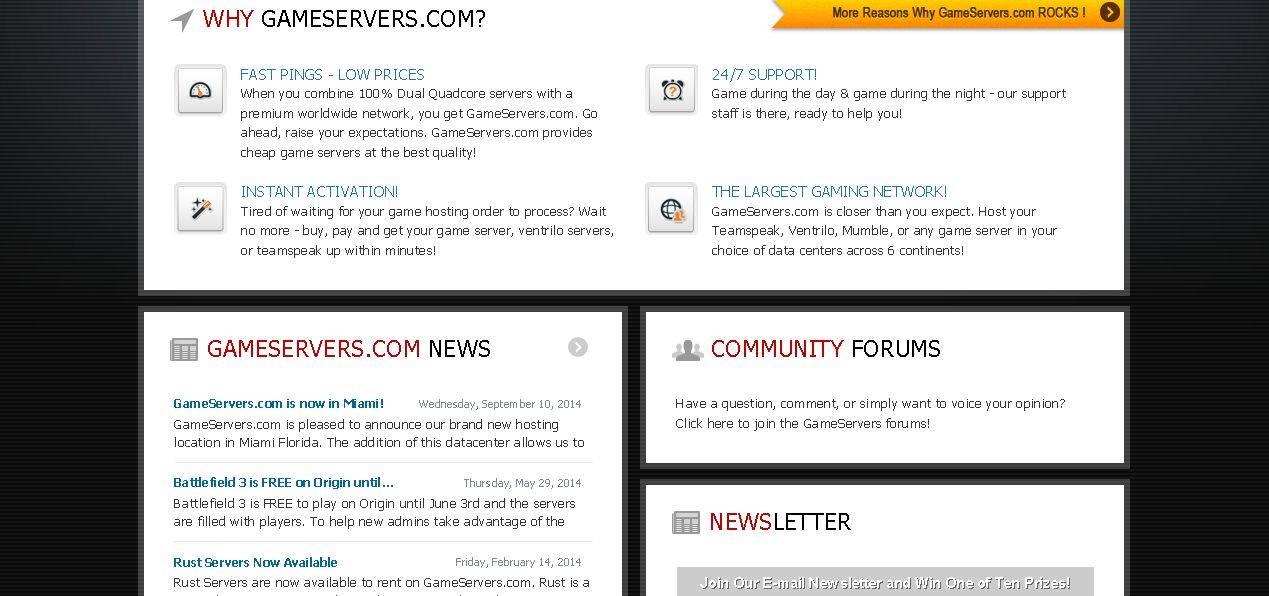 Gallery - Gameservers.com Review