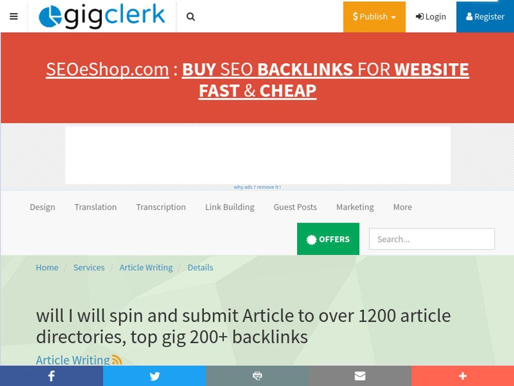 Gallery - Gig Clerk Review