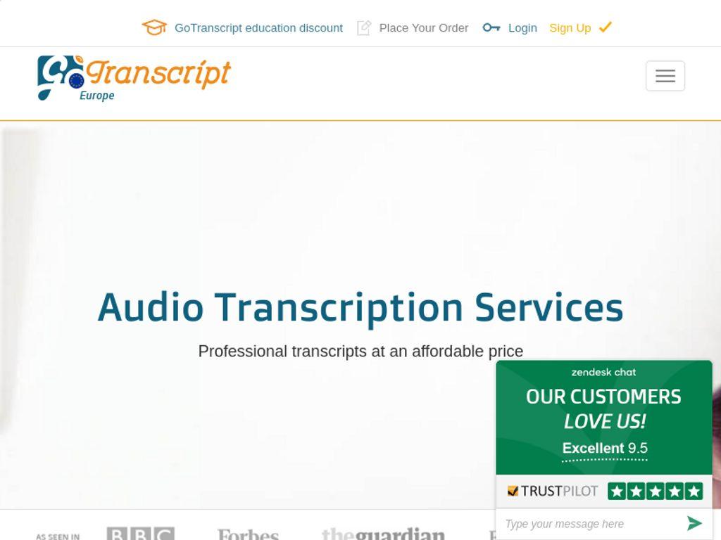 Gallery - GoTranscript Review
