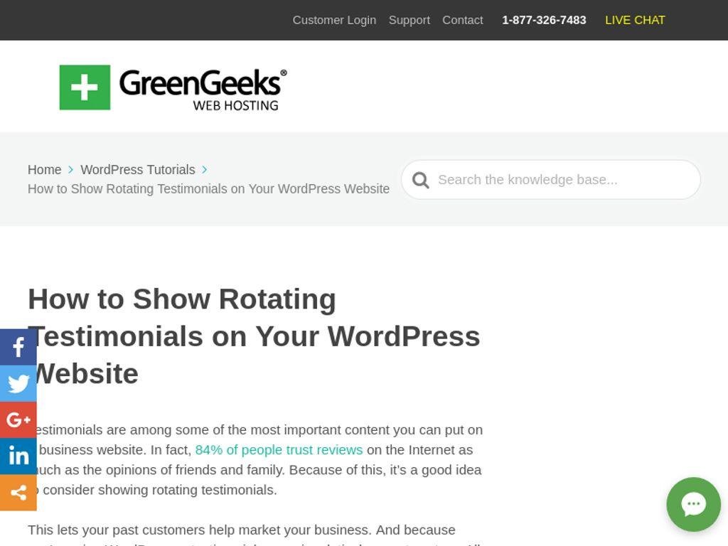 Gallery - GreenGeeks Review
