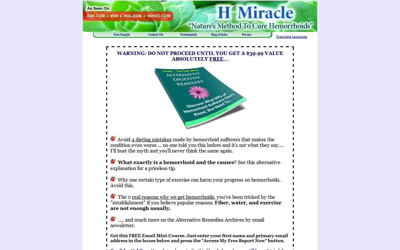 Gallery - Hemorrhoid Miracle Review