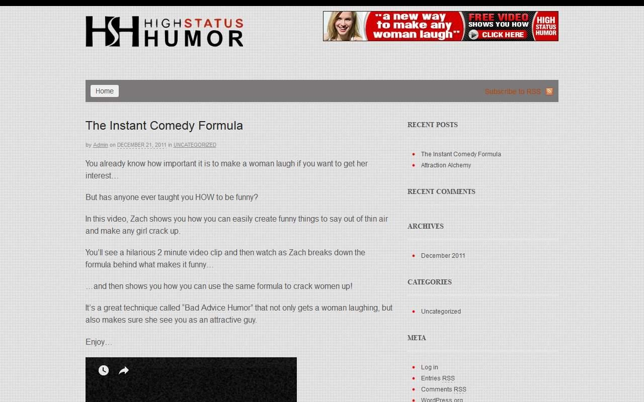 Gallery - High Status Humor Review