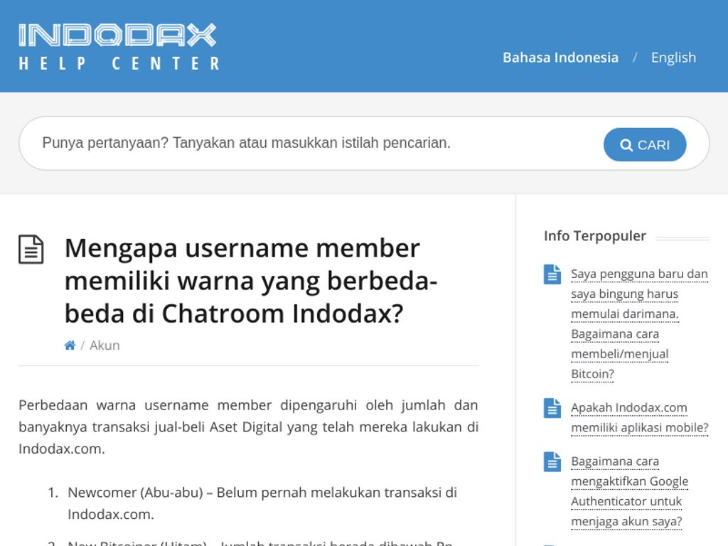 Gallery - Indodax Review