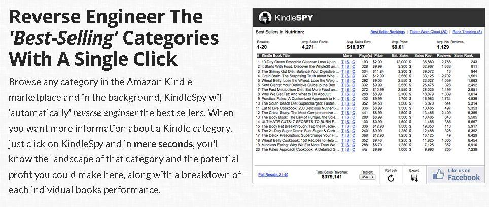 Gallery - KindleSpy Review