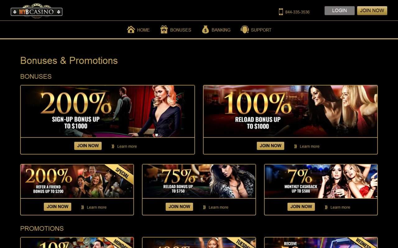 Gallery - MYB Casino Review