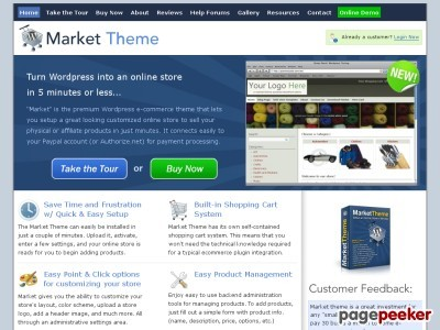 Gallery - Market Theme Review