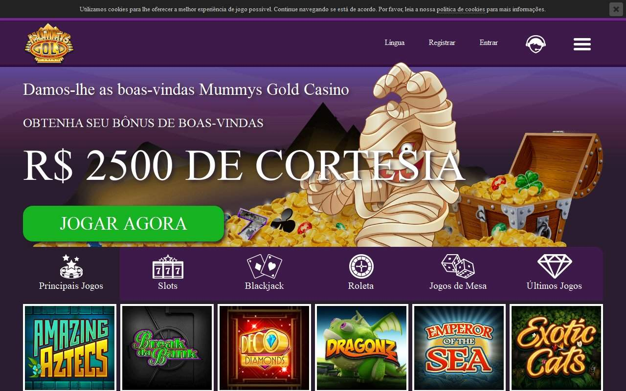 Gallery - Mummys Gold Casino Review