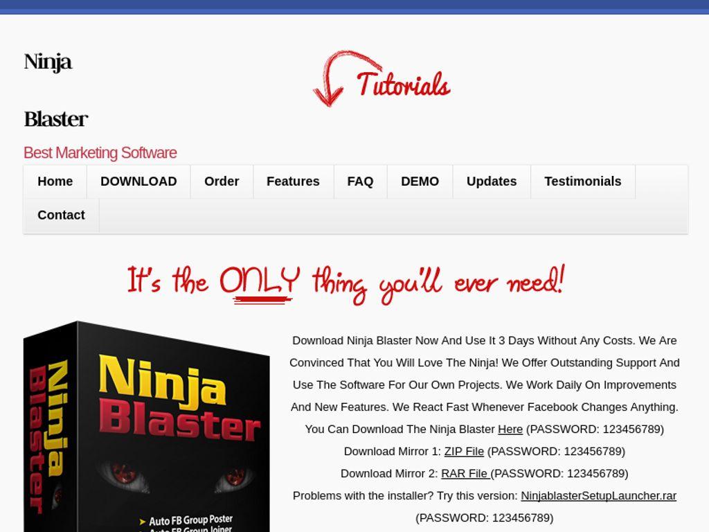 Gallery - Ninja Blaster Review