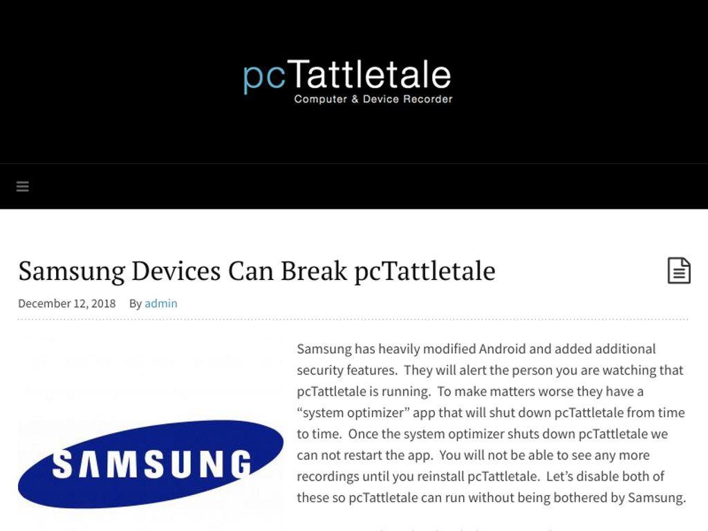 Gallery - PC Tattletale Review