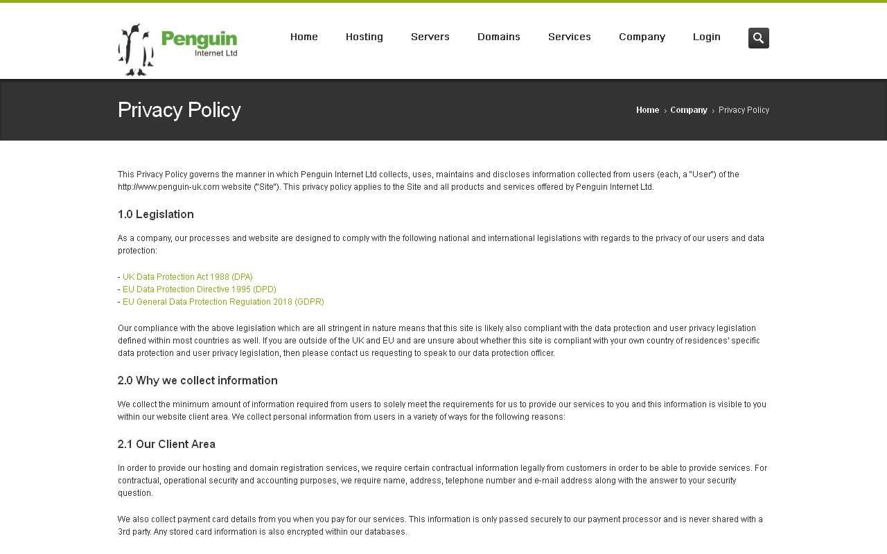 Gallery - Penguin Internet Ltd Review