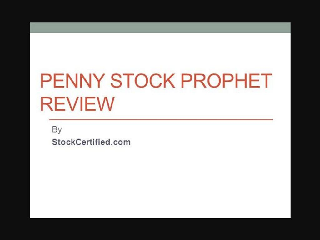 Gallery - Penny Stock Prophet Review