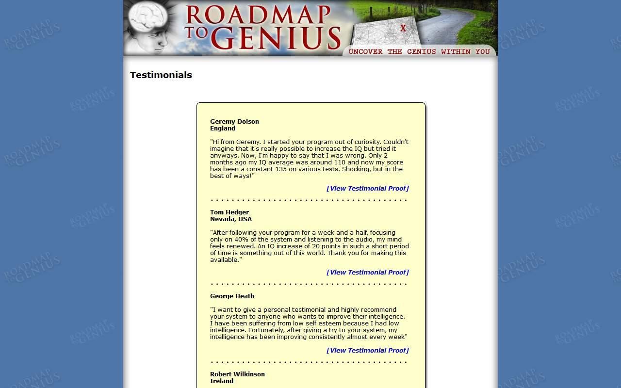 Gallery - Roadmap To Genius Review