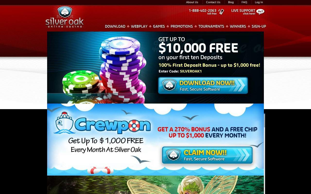 Gallery - Silver Oak Casino Review