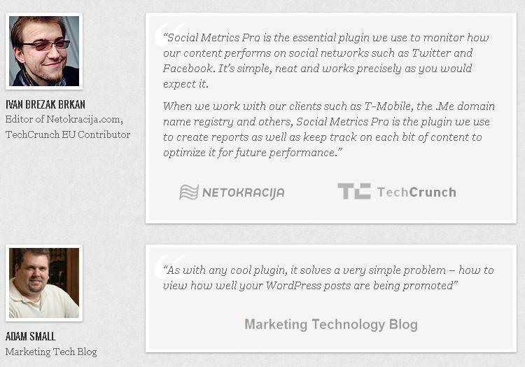 Gallery - Social Metrics Pro Review
