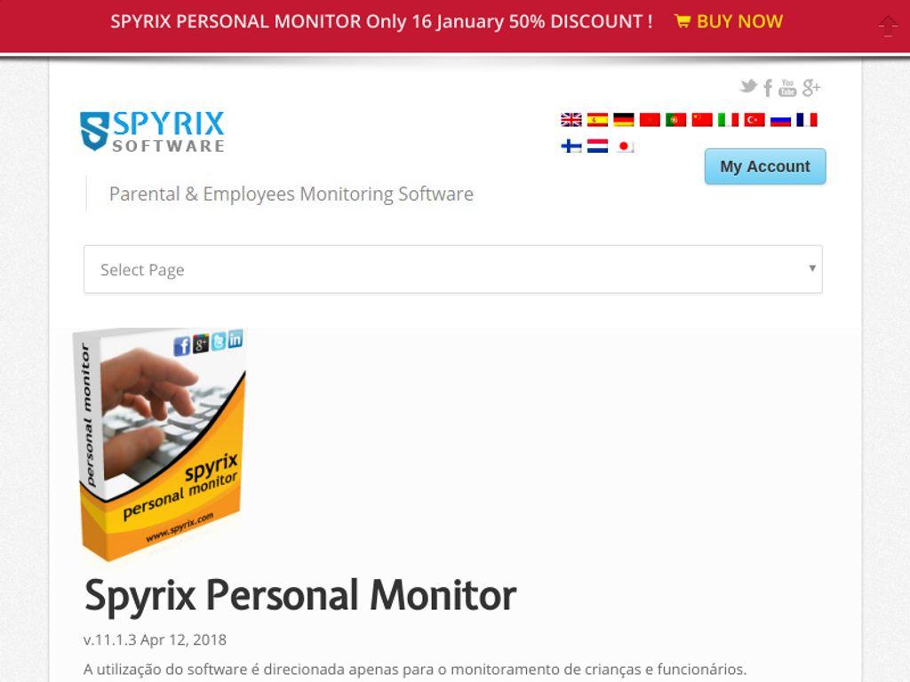 Gallery - Spyrix Keylogger Review