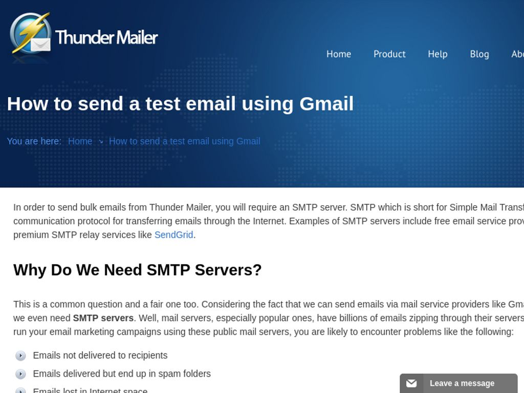 Gallery - Thunder Mailer Review