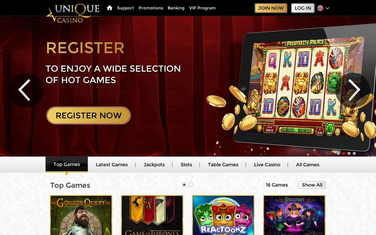 Gallery - Unique Casino Review