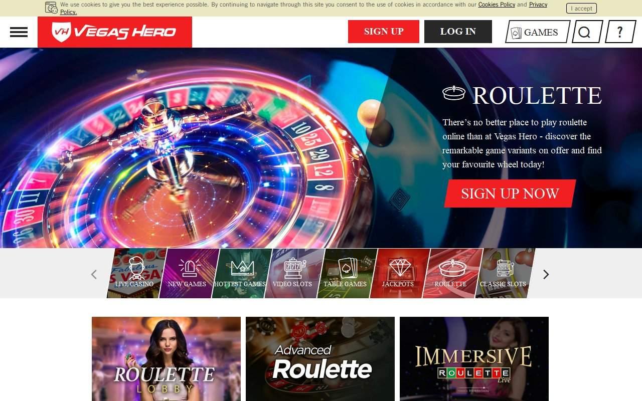 Gallery - Vegas Hero Casino Review