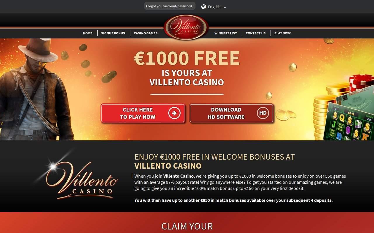 Gallery - Villento Casino Review