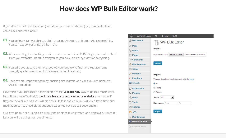 Gallery - WP Bulk Editor Review