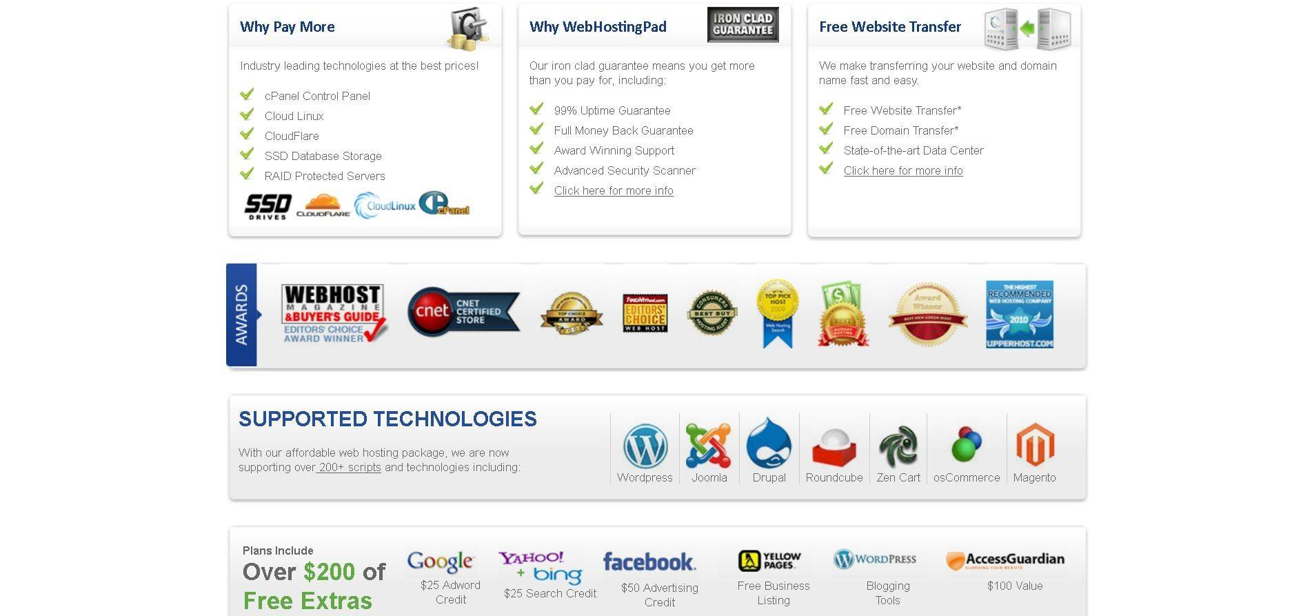 Gallery - WebHostingPad Review