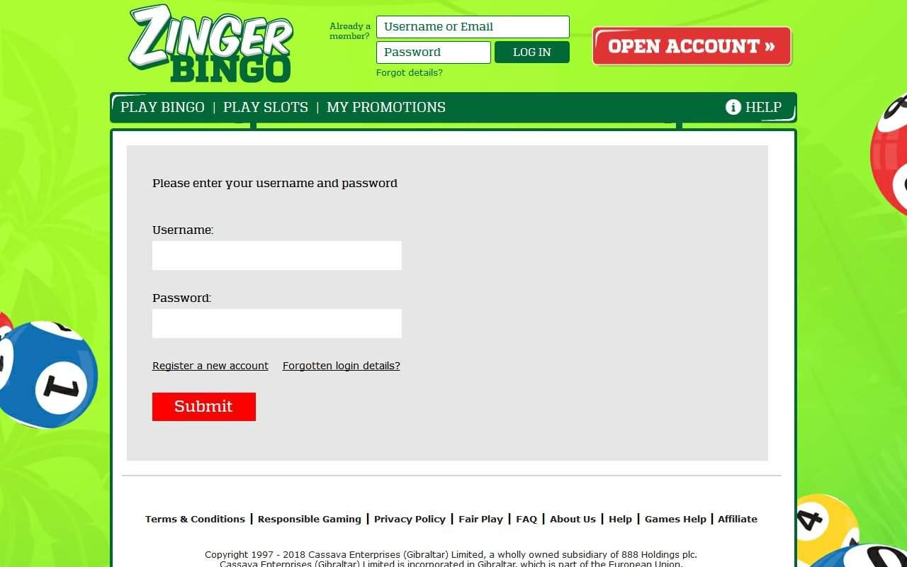 Gallery - ZingerBingo.com Review