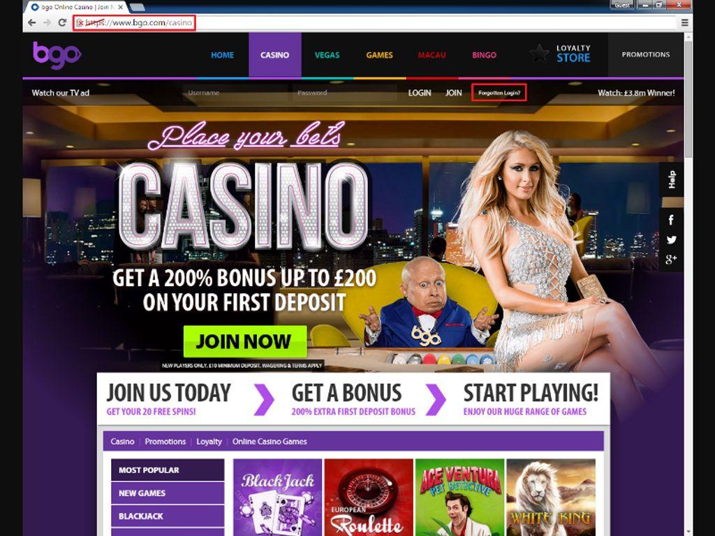 Gallery - bgo Casino Review