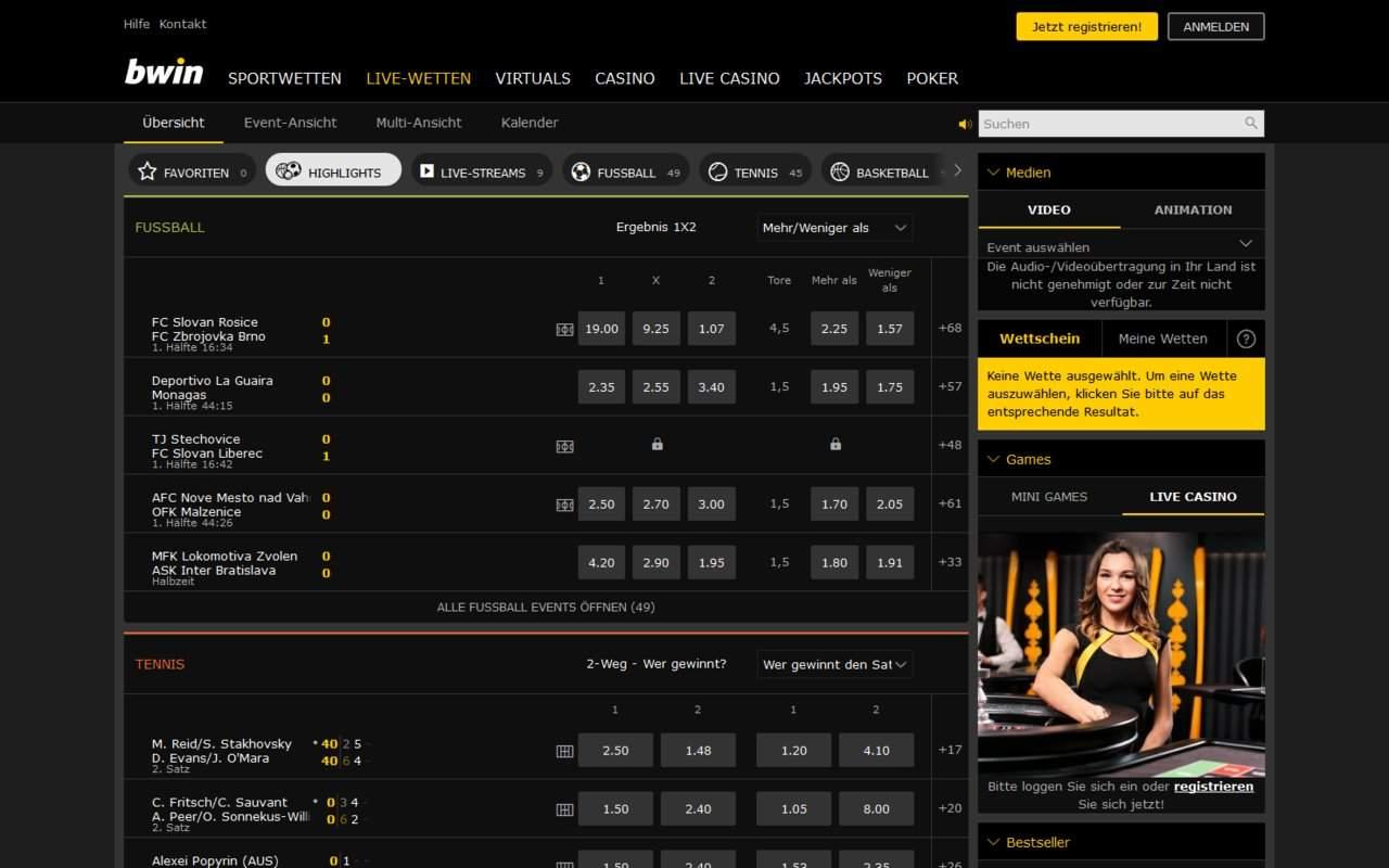 Gallery - bwin Poker Review