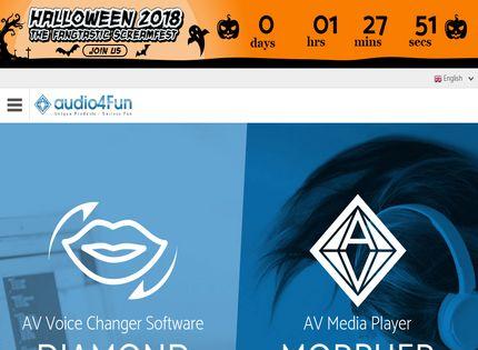 Homepage - AV Voice Changer Software Review