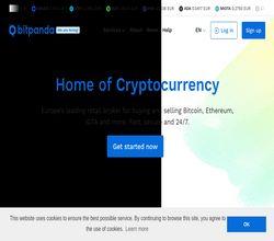 Homepage - BitPanda Review