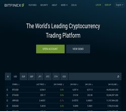 Homepage - Bitfinex Review