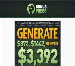 Homepage - BonusPress Review
