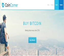 Homepage - CoinCorner Review
