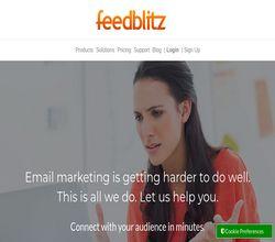 Homepage - FeedBlitz Review