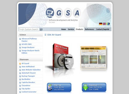 Homepage - GSA AV Guard Review