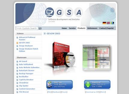 Homepage - GSA GENOM 2005 Review