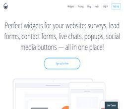 Homepage - GetSiteControl Review