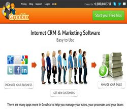 Homepage - Groobix Review