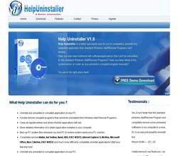 Homepage - Help Uninstaller Review