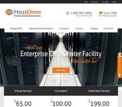 Homepage - HostDime Review