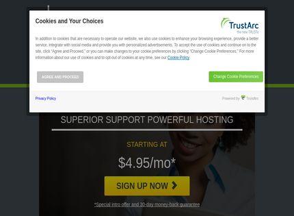 Homepage - HostMonster Review
