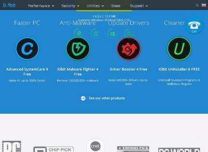 Homepage - IObit Uninstaller PRO Review