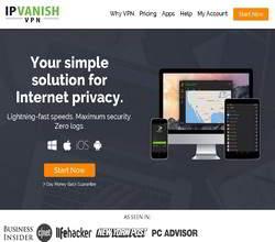 Homepage - IPVanish VPN Review